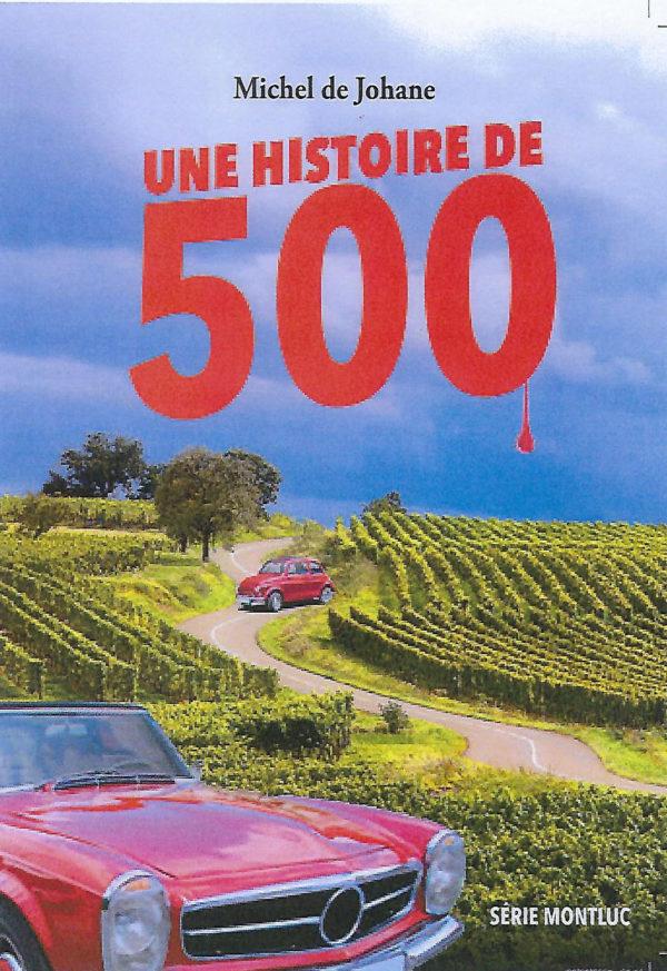 Page de couverture du roman Une histoire de 500