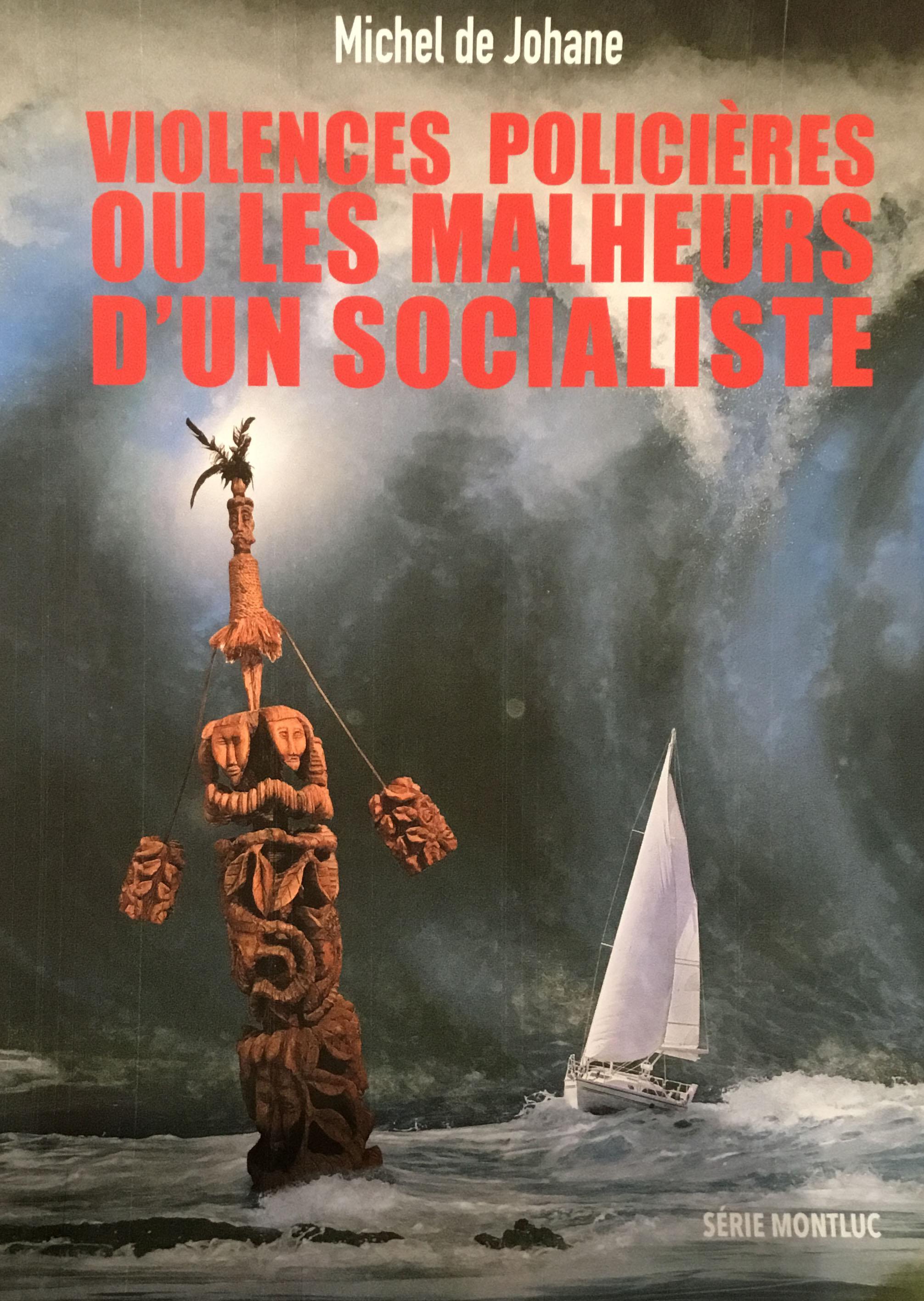 Page de couverture du roman Violences policières ou les malheurs d'un socialiste